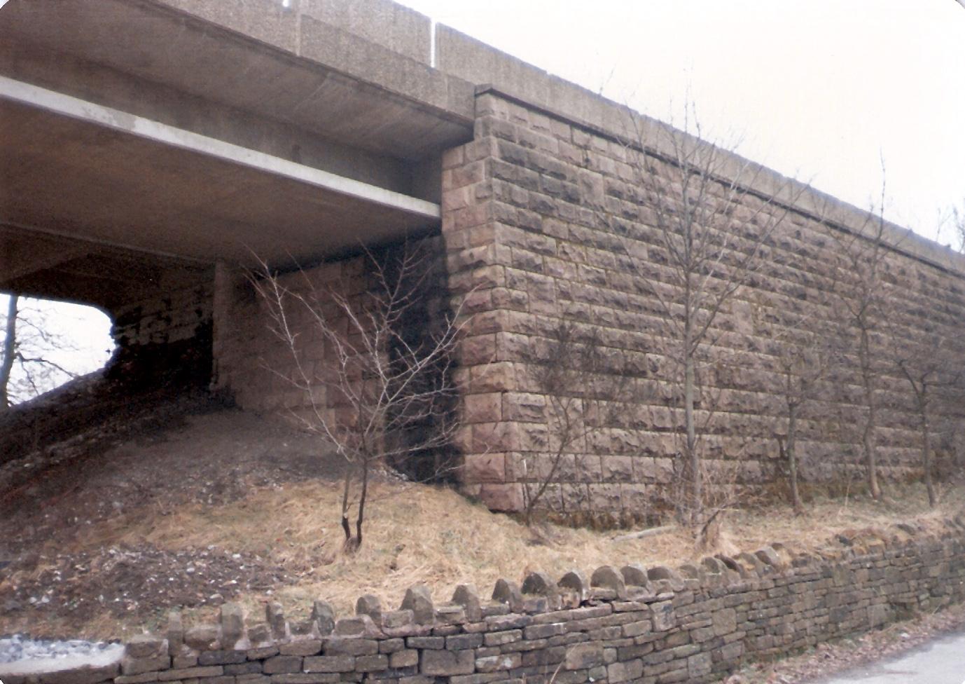 Bridge Abutment Bridge New Abutment